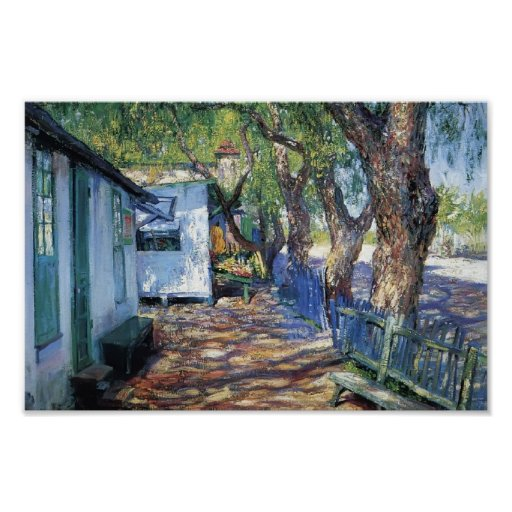 San Gabriel Road by Guy Rose Posters