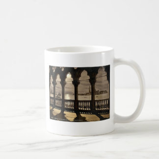 San Georgio from Doges' Palace by moonlight, Venic Coffee Mug