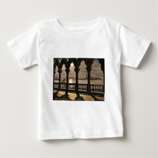 San Georgio from Doges' Palace by moonlight, Venic Shirt