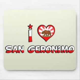 San Geronimo, CA Mouse Pads