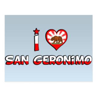 San Geronimo, CA Postcard