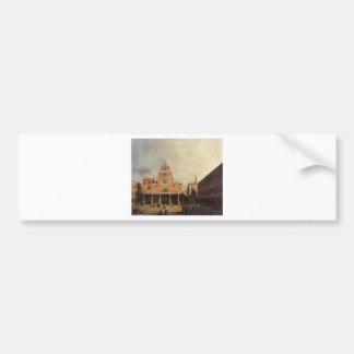 San Giacomo de Rialto by Canaletto Bumper Sticker