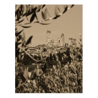 San Gimignano II Postcard