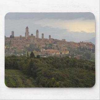 San Gimignano, Italia Alfombrilla De Ratones