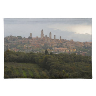 San Gimignano, Italia Manteles Individuales