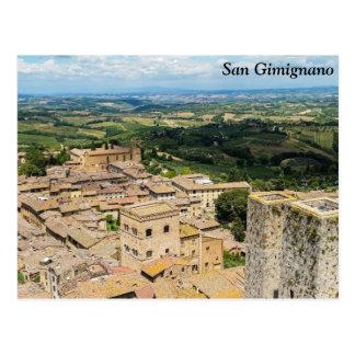 San Gimignano, Italia Tarjetas Postales