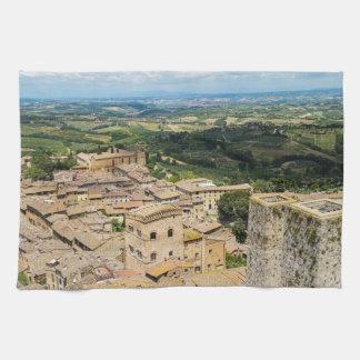 San Gimignano, Italy Hand Towel