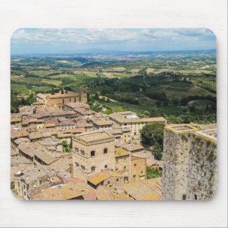 San Gimignano, Italy Mouse Pad