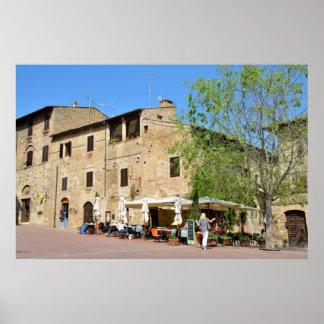 San Gimignano, Italy Poster