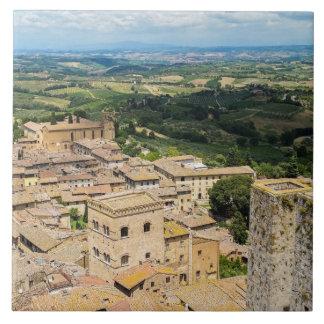 San Gimignano, Italy Tile