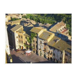 San Gimignano Old Town, Siena, Tuscany, Italy 2 Canvas Print