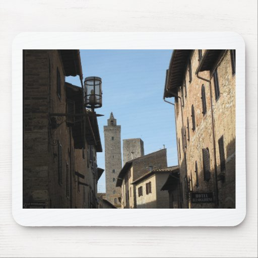 San Gimignano Toscana Italia Tapetes De Raton