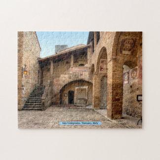 San Gimignano, Tuscany, Italy Jigsaw Puzzle
