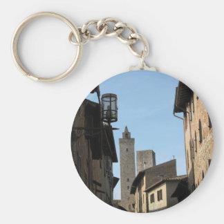San Gimignano Tuscany Italy Keychain