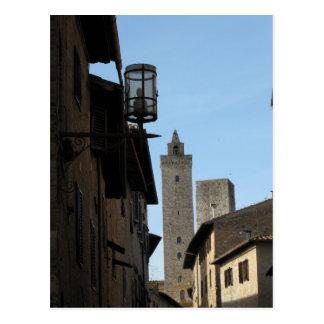 San Gimignano Tuscany Italy Postcard
