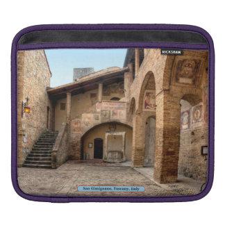 San Gimignano, Tuscany, Italy Sleeve For iPads