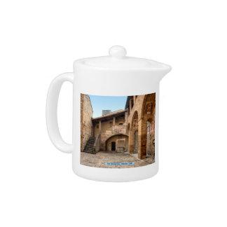 San Gimignano, Tuscany, Italy Teapot