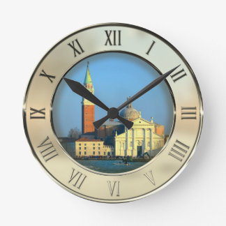 San Giorgio Church Round Clock