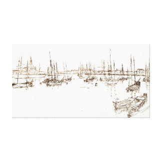 San Giorgio Italy 1886 Canvas Print