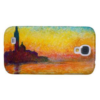 San Giorgio Maggiore at Dusk  Claude Monet Samsung Galaxy S4 Covers