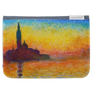 San Giorgio Maggiore at Dusk  Claude Monet Kindle Keyboard Case