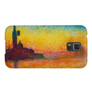 San Giorgio Maggiore at Dusk  Claude Monet Case For Galaxy S5