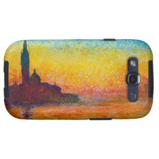 San Giorgio Maggiore at Dusk Claude Monet Galaxy SIII Cases