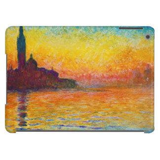 San Giorgio Maggiore at Dusk  Claude Monet iPad Air Covers