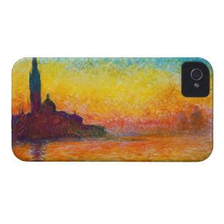 San Giorgio Maggiore at Dusk  Claude Monet iPhone 4 Case
