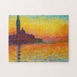 San Giorgio Maggiore at Dusk  Claude Monet Jigsaw Puzzles