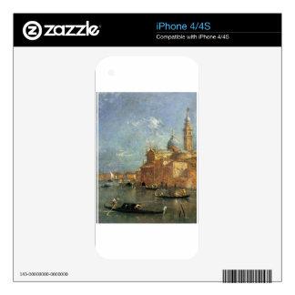 San Giorgio Maggiore by Francesco Guardi iPhone 4S Skins