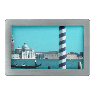 San Giorgio Maggiore Lagoon Poles.jpg Rectangular Belt Buckle