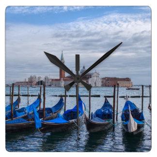 San Giorgio Maggiore Venice Italy Square Wall Clock
