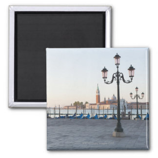 San Giorgio Maggiore viewed from Riva degli 2 2 Inch Square Magnet