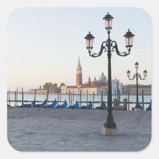 San Giorgio Maggiore viewed from Riva degli 2 Stickers
