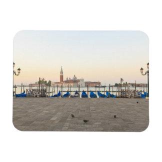 San Giorgio Maggiore viewed from Riva degli 3 Flexible Magnets