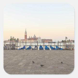 San Giorgio Maggiore viewed from Riva degli 3 Sticker