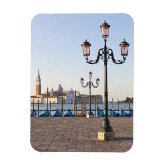 San Giorgio Maggiore viewed from Riva degli Rectangular Photo Magnet