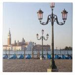 San Giorgio Maggiore viewed from Riva degli Large Square Tile