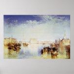 San Giorgio Venice by Joseph Mallord Turner Posters