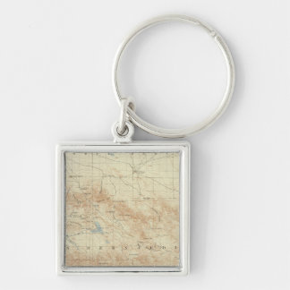 San Gorgonio quadrangle showing San Andreas Rift Keychain