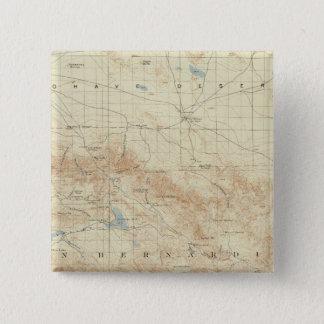 San Gorgonio quadrangle showing San Andreas Rift Pinback Button