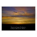 San Ignacio Lagoon Sunset Card