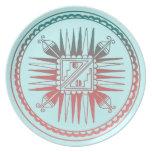 San Ildefonso Pottery Design Plate