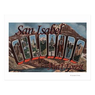 San Isabel Nat'l Forest, Colorado Postcard