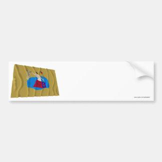 San Jacinto Flag Bumper Stickers
