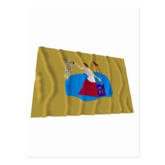 San Jacinto Flag Postcard