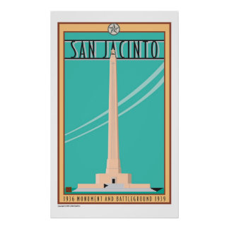San Jacinto Monument-Poster