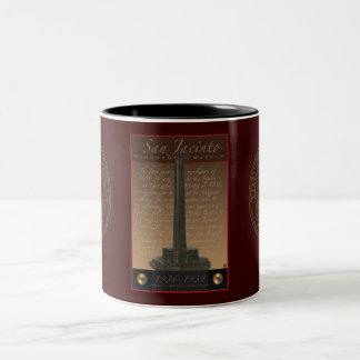 San Jacinto Monument Two-Tone Coffee Mug