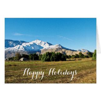 San Jacinto Mountains greeting card